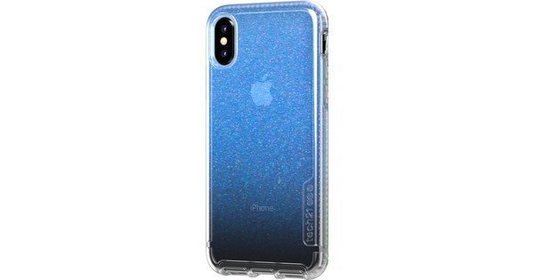 Tech21 Pure Shimmer Apple iPhone X / Xs Back Cover Blue