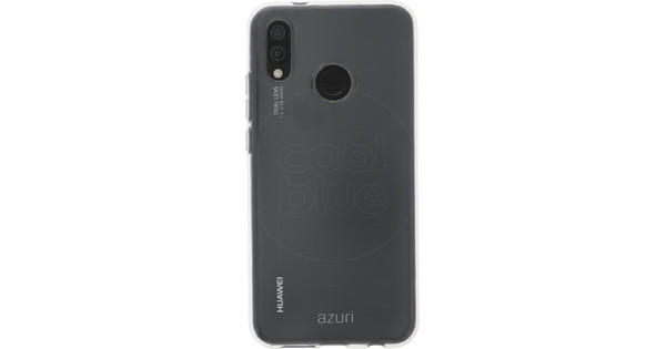 Azuri TPU Ultra Thin Huawei P20 Lite Back cover Transparant