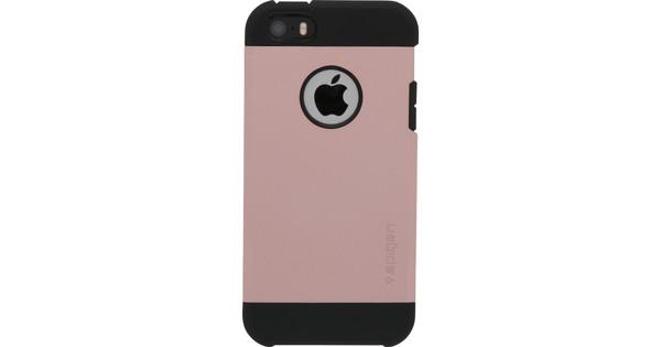 big sale c015f 8ca59 Spigen Tough Armor Apple iPhone 5/5S/SE Rose Gold