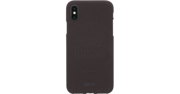 Azuri Flexible Sand Apple iPhone X Back Cover Dark Gray