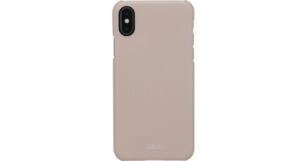 Azuri Metallic Soft Touch Apple iPhone X Back Cover Gold