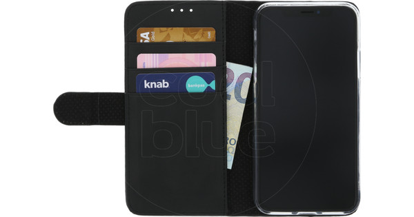 Azuri Wallet Magnetic Apple iPhone X Book Case Black