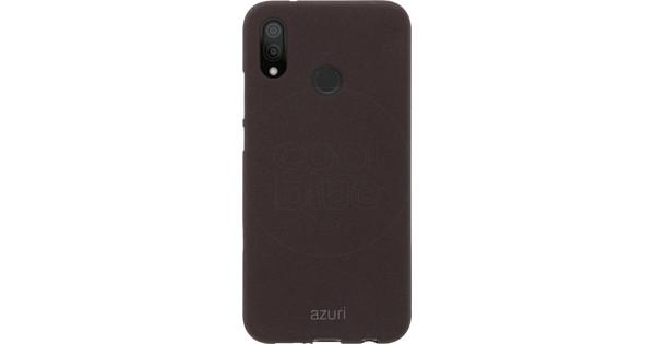 Azuri Flexible Sand Huawei P20 Lite Back cover Donkergrijs