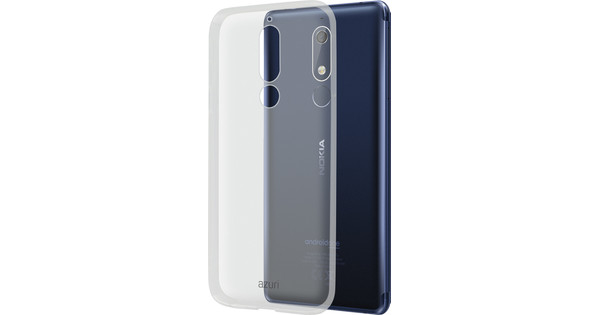 Azuri Glossy TPU Nokia 5.1 Back Cover Transparent