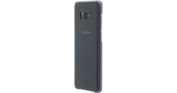 Samsung Galaxy S8 Plus Clear Back Cover Black