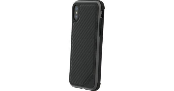 X-Doria Defense Lux Carbon Apple iPhone X Back Cover Black