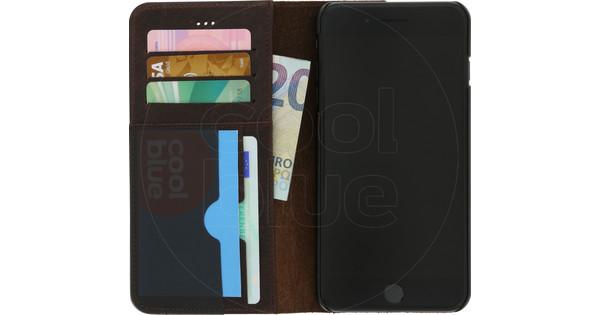 Azuri Full Wallet Apple iPhone 7 Plus / 8 Plus Book Case Brown