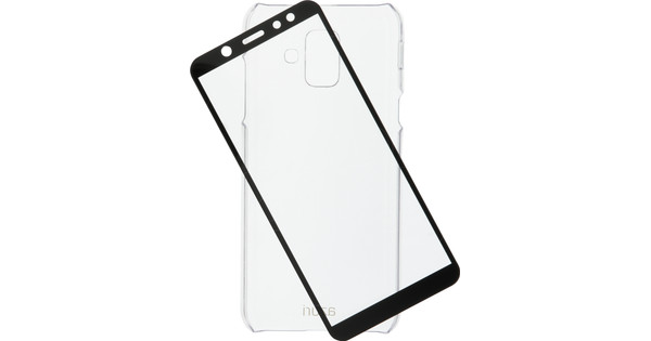 Azuri Protection Samsung Galaxy A6 (2018) Full Body Transparant