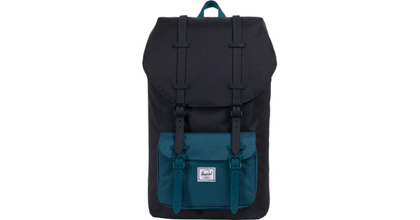 ebaa8a22ea8 Herschel Little America Black / Deep Teal - Coolblue - Before 23:59,  delivered tomorrow
