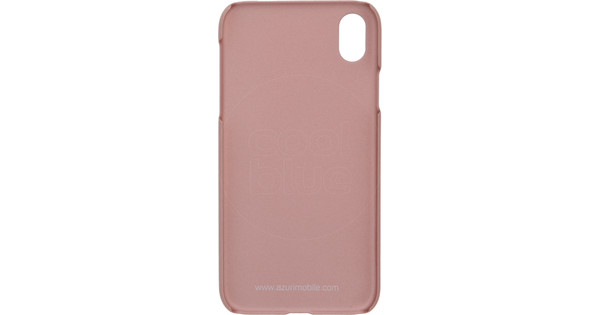 Azuri Metallic Soft Touch Apple iPhone Xr Back Cover Pink