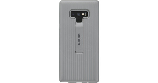 Samsung Galaxy Note 9 Protective Standing Back Cover Silver