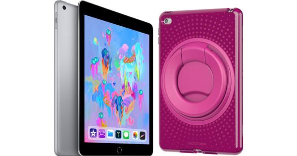 Apple iPad (2018) 32 GB Wifi Kindertablet Bundel Roze