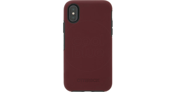 Otterbox Symmetry Apple iPhone X Back Cover Red