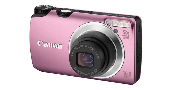 Canon PowerShot A3300 Pink