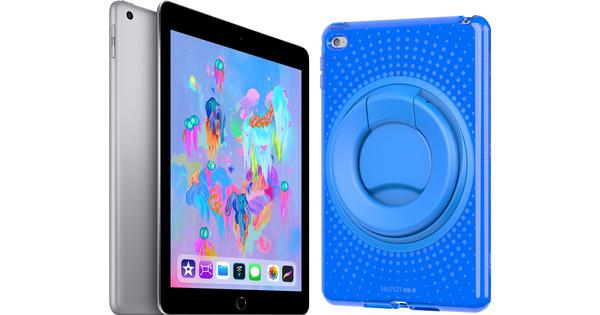 Apple iPad (2018) 32 GB Wifi Kindertablet Bundel Blauw