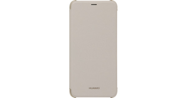 Huawei P Smart Flip Cover Book Case Gold