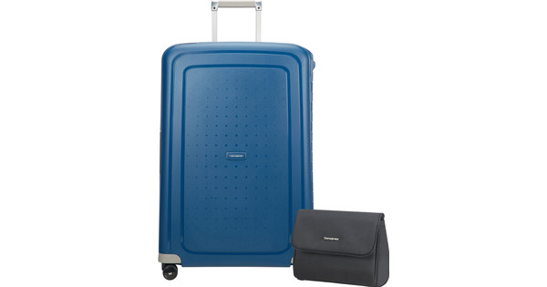 183bad1b9 Samsonite S'Cure Spinner 75cm Ink Blue - Coolblue - Before 23:59, delivered  tomorrow