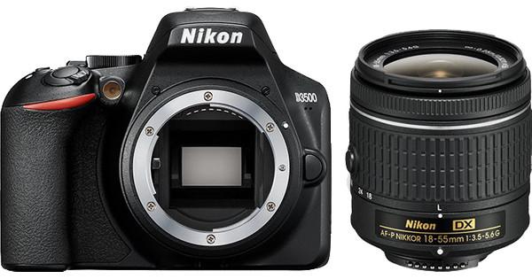 Nikon D3500 + AF-P DX 18-55mm f/3.5-5.6G