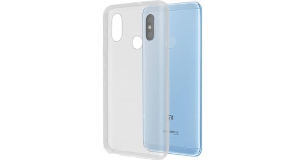 Azuri Glossy TPU Xiaomi Mi A2 Back Cover Transparant