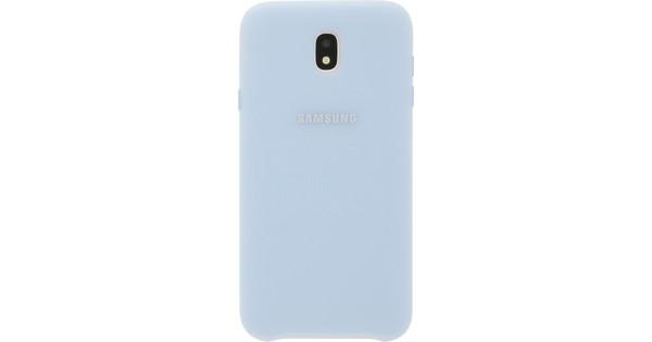 Samsung Galaxy J7 (2017) Dual Layer Back Cover Blue