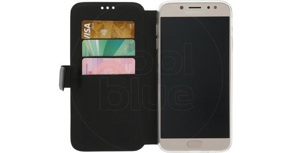 Azuri Wallet Magnetic Samsung Galaxy J7 (2017) Book Case Black