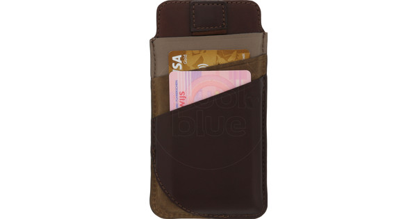 Valenta Pocket Supreme Apple iPhone 6/6S/7/8 Pouch Brown