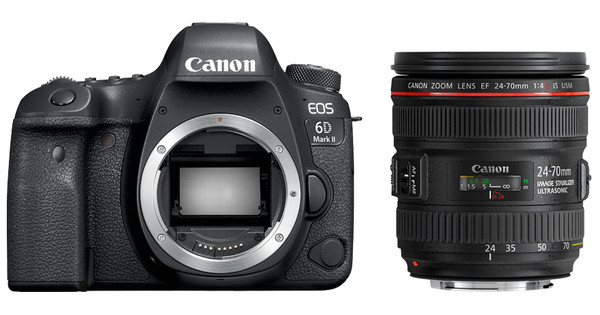 Canon EOS 6D Mark II + EF 24-70mm f/4L IS USM