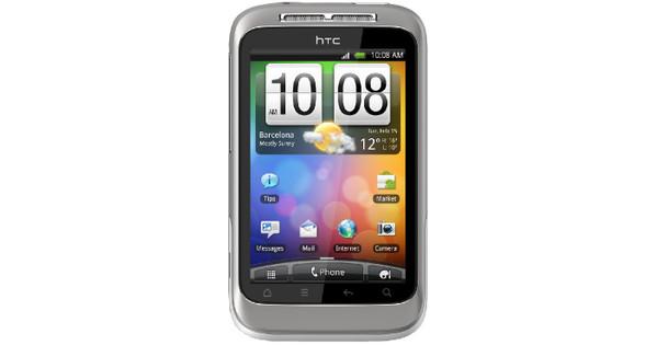 HTC Wildfire S Wit KPN Prepaid