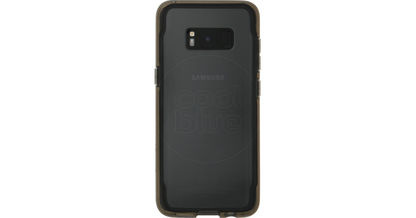 Griffin Survivor Clear Samsung Galaxy S8 Back Cover Zwart