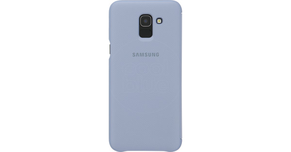 Samsung Galaxy J6 (2018) Wallet Cover Book Case Gray