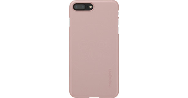 7ce9b1121a0 Spigen Thin Fit Apple iPhone 7 Plus 8 Plus Back Cover Rose Gold - Coolblue  - Before 23 59