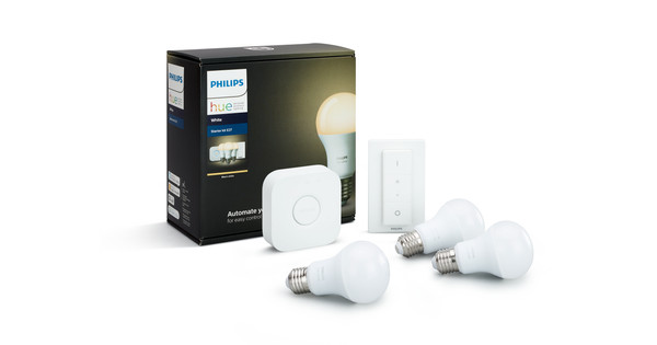 Philips HUE Starter Pack White with Dimmer switch