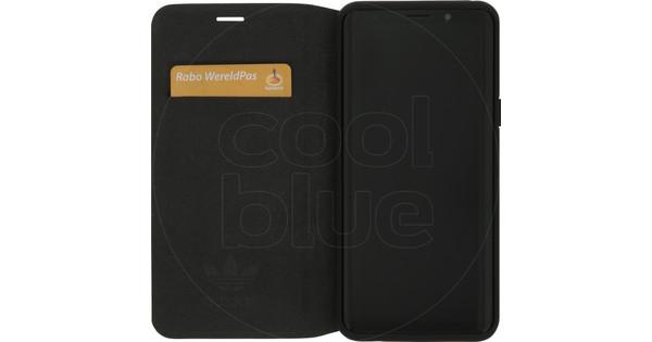 adidas Originals New Basics Samsung Galaxy S9 Book Case Zwart
