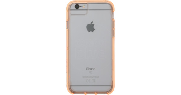 new product 75508 e190a Griffin Survivor Clear Apple iPhone 6/6S/7/8 Back Cover Rose Gold