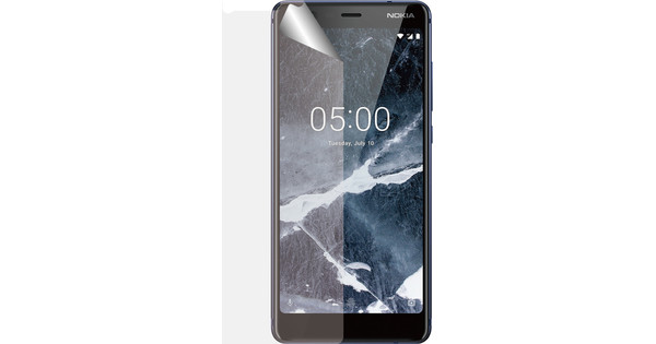 Azuri Nokia 5.1 Screen Protector Plastic Duo Pack