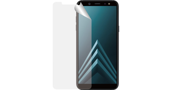 Azuri Samsung A6 Plus (2018) Screen Protector Plastic Duo Pack