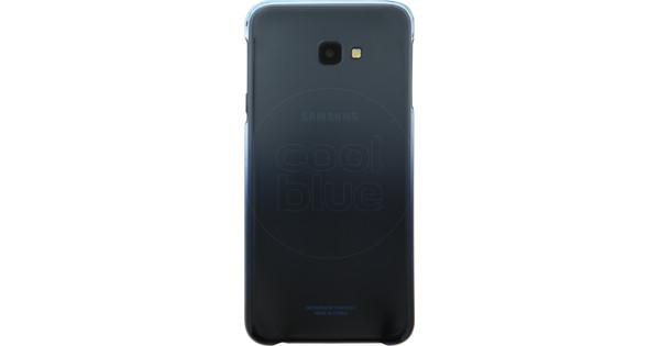 Samsung Galaxy J4 Plus Gradation Back Cover Blue