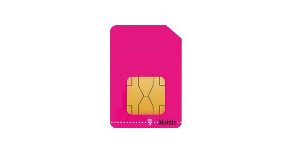 T-Mobile Prepaid Data Tablet/Laptop Simkaart