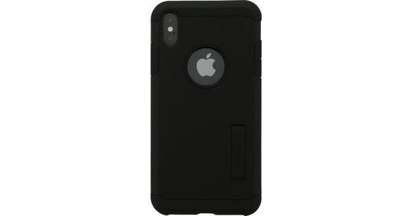 new concept 8fdbc 8d8b2 Spigen Tough Armor iPhone Xs Max Back Cover Black