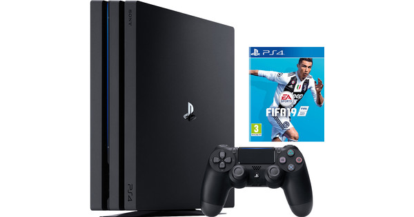 5bac053cc Sony PlayStation 4 Pro 1TB FIFA 19 Bundle - Coolblue - Before 23:59,  delivered tomorrow