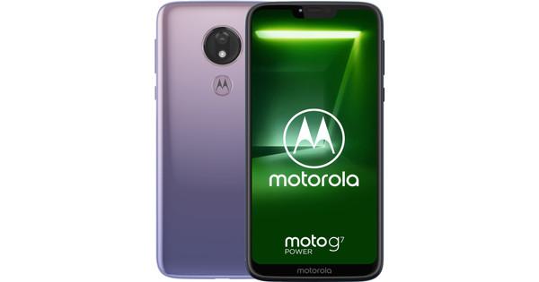 Motorola Moto G7 Power Paars