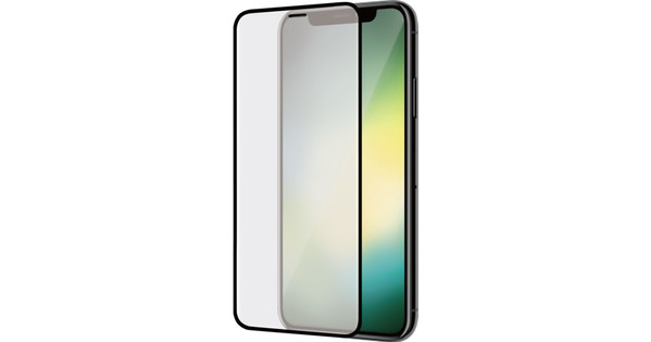 Azuri Curved Tempered Glass Apple iPhone Xr Screen Protector Glass Duo Pack Black
