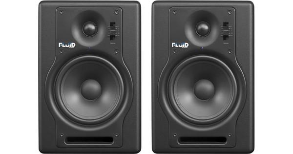Fluid Audio F5 Zwart (per paar)