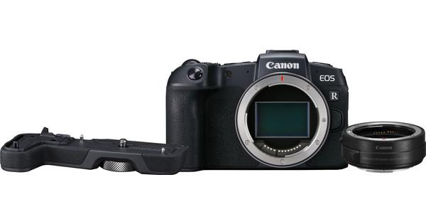 Canon EOS RP Body + EF-EOS R Adapter + EOS RP Grip (EG-E1)