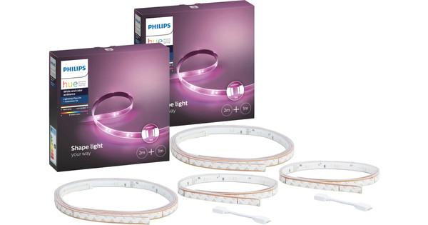 Philips Hue Lightstrip Plus 2 meter + 1 meter Duopack
