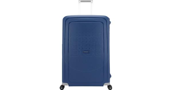 cffdfebf855 Samsonite S'Cure Spinner 81 cm Dark Blue - Coolblue - Voor 23.59u, morgen  in huis