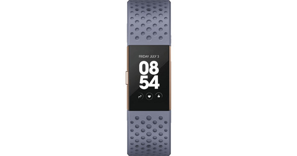 Fitbit Charge 2 Blue/Grey Sport - L