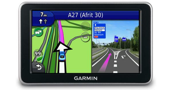 Garmin Nuvi 2460 + Tas + Thuislader + Dashboard Donut