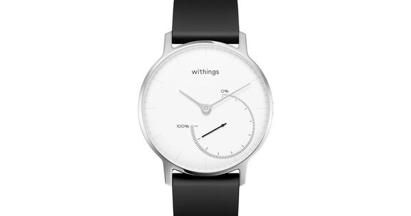 Withings Steel Zwart/Wit
