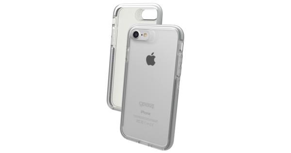 Gear4 D3O Bank Apple iPhone SE 2/8/7/6/6s Transparent